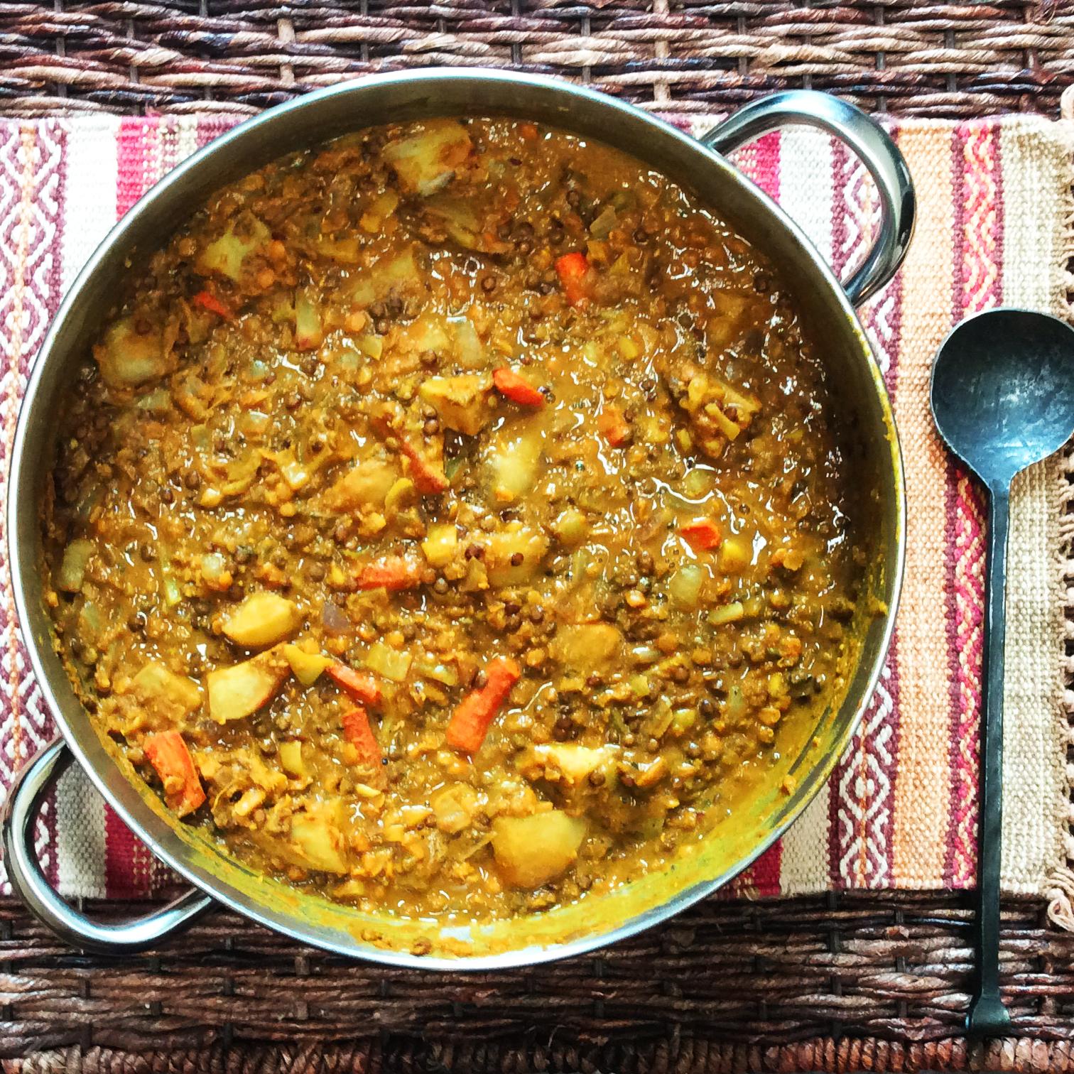 Mung Bean Lentil Curry
