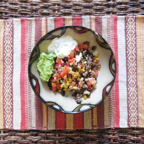 All Veggie Burrito Bowl B